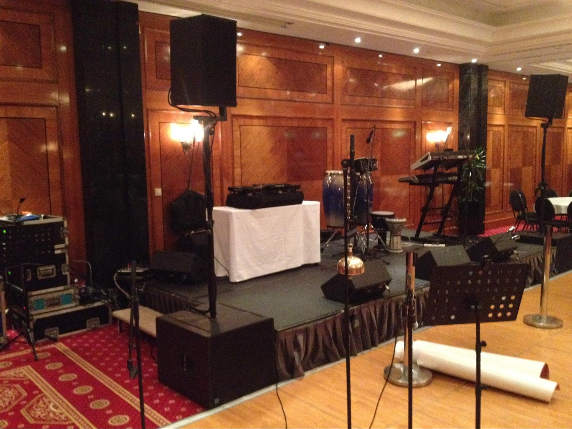 conference sound hire