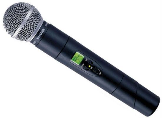 Shure SM58 Handheld Transmitter
